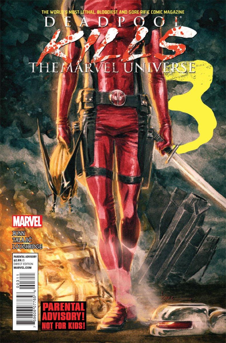 PREVIEW: Deadpool Kills The Marvel Universe #3