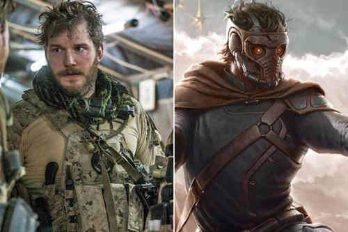 Chris Pratt-Star Lord
